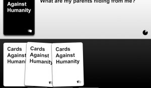 cards against humanity iOS concept